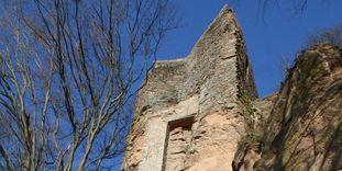 Detail der Burg Alt-Eberstein