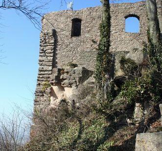 Aufgang von Burg Alt-Eberstein
